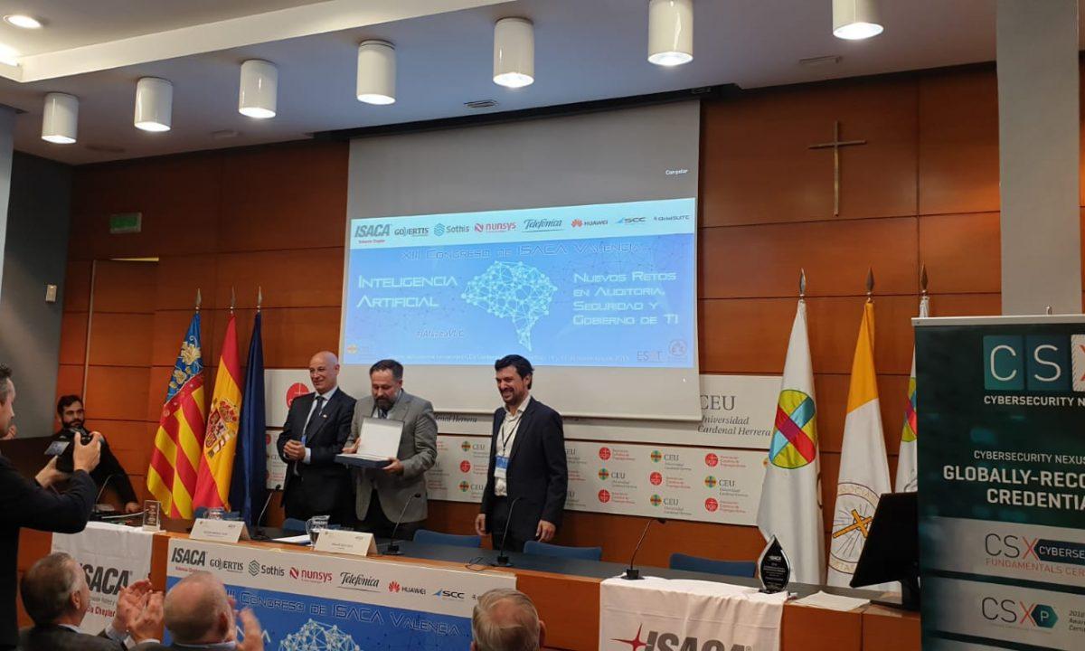 Entrega premio ISACA 2019
