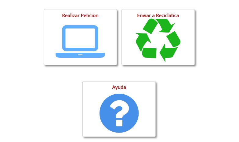 pagina web reciclatica