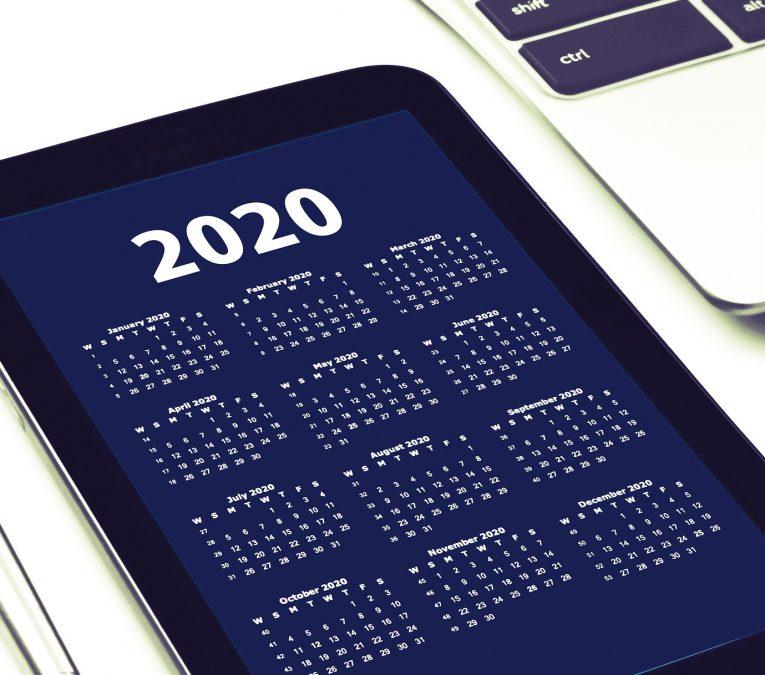 Agenga 2020 en un móvil