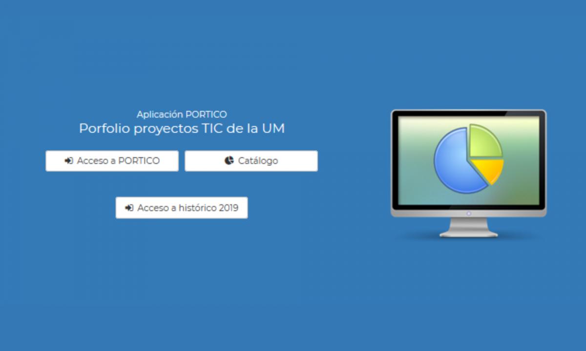 imagen de la portada de la web Portico