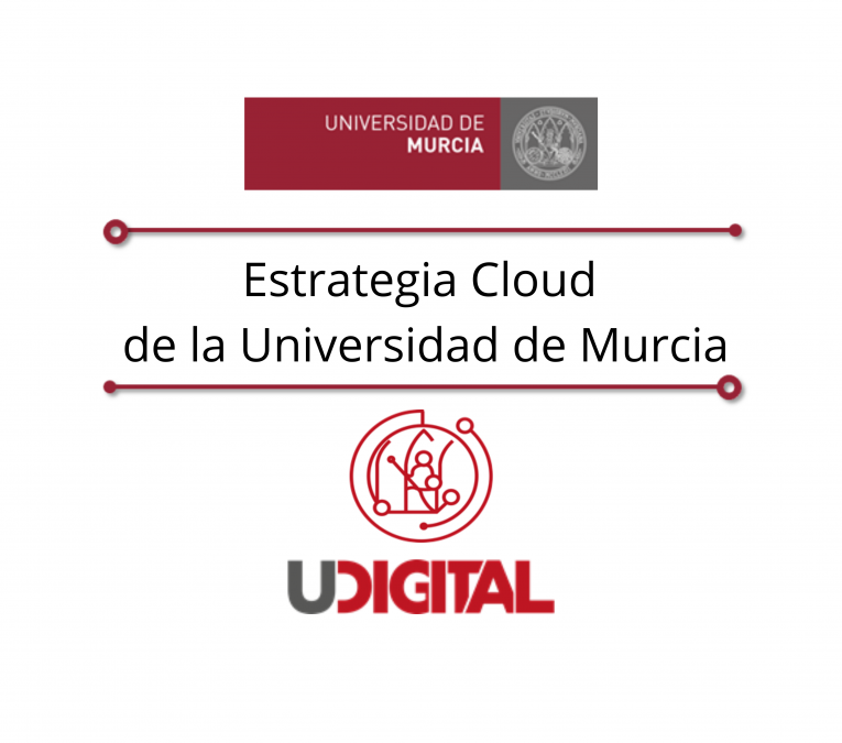 Portada estrategia cloud universidad de Murcia